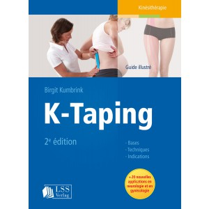 K-Taping Guide illustré de Birgit Kumbrink