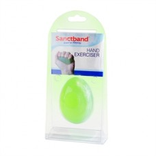 Egg-shaped Handtrainer green