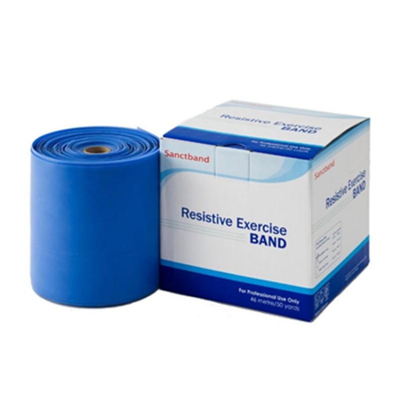 Trainingsband XL Rolle blau Verpackung