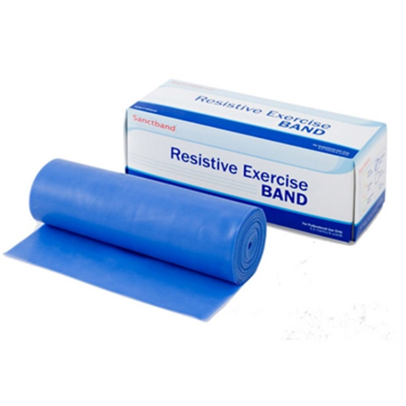 Trainingsband Rolle blau