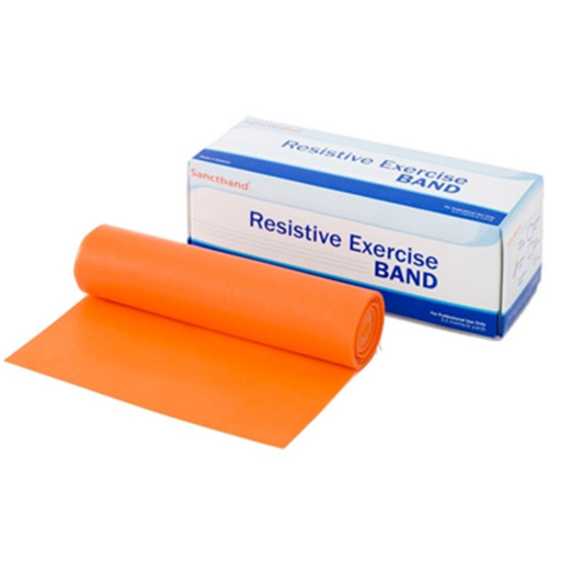 Trainingsband Rolle orange