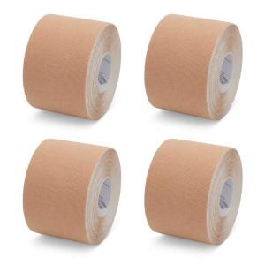 K-Tape Beige - Box mit 4 Rollen