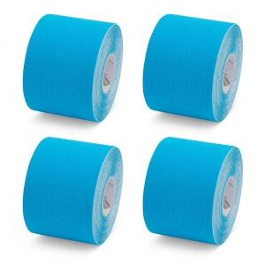 K-Tape Blau - Box mit 4 Rollen
