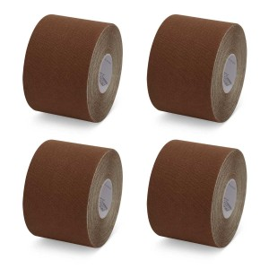 K-Tape My Skin Dark Brown - Box mit 4 Rollen