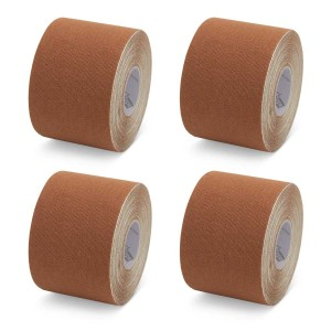 K-Tape My Skin Medium Brown - Box mit 4 Rollen