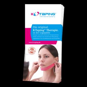 K-Taping Logo Flyer - Vorderseite