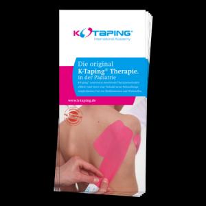 K-Taping Pädiatrie Flyer - Vorderseite