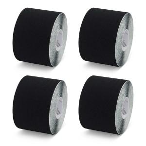 K-Tape Black - Caja de 4 rollos