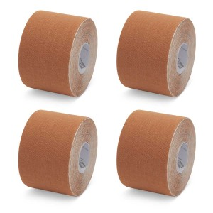K-Tape My Skin Light Brown - Caja de 4 rollos