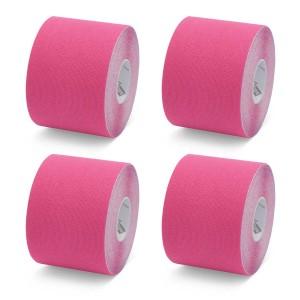K-Tape Red - Caja de 4 rollos