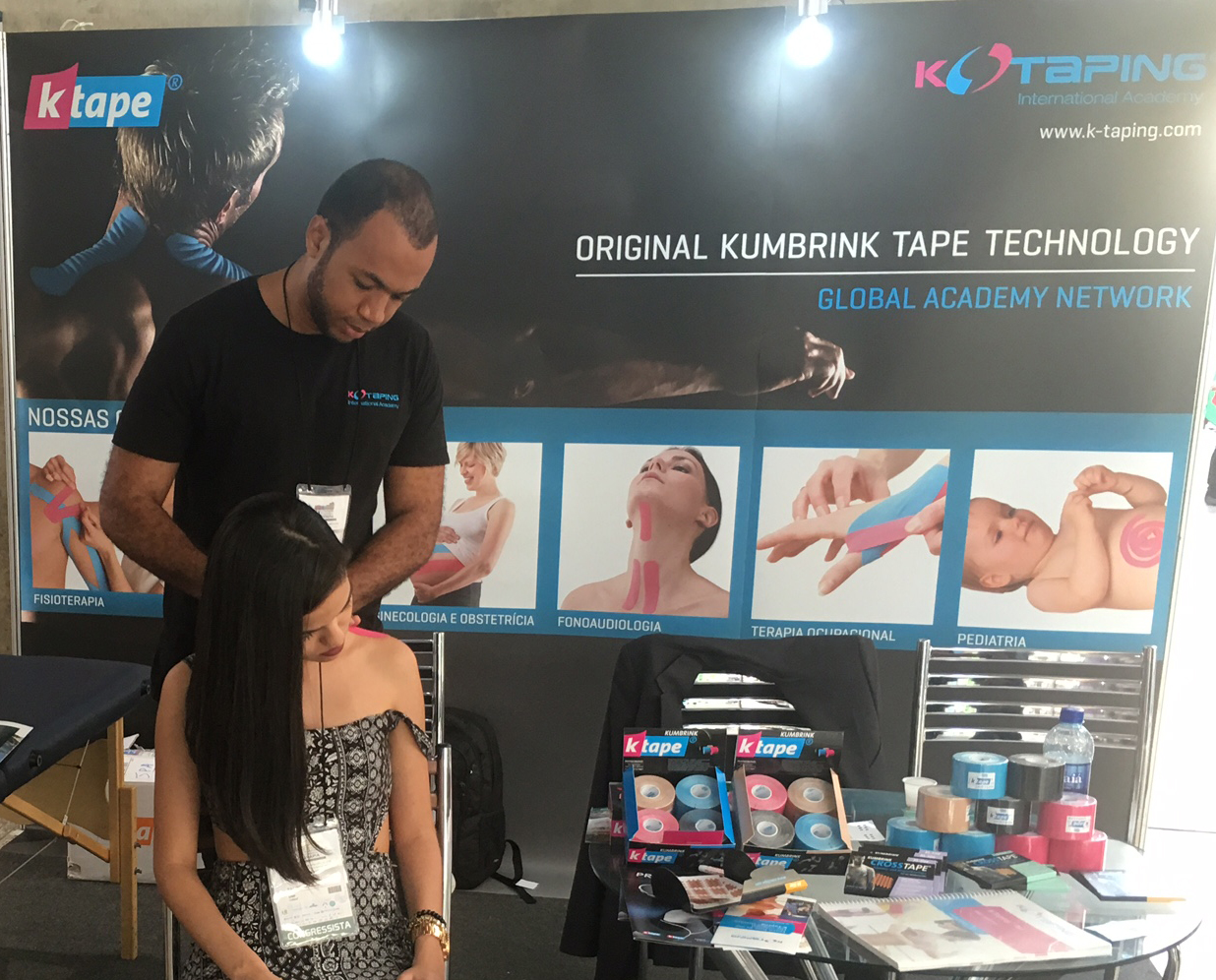 K-Taping Academy booth