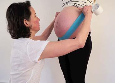 K-Taping in der Schwangerschaft
