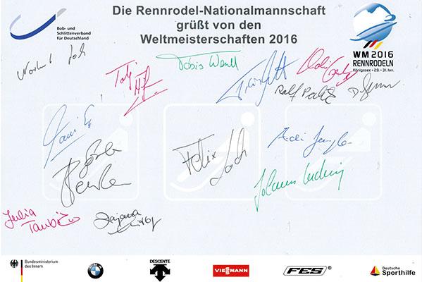 Rennrodel-Nationalmannachaft